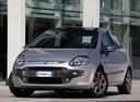 Фото авто Fiat Punto 3 поколение [рестайлинг], ракурс: 45 цвет: серый