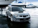 Фото авто Subaru Impreza 2 поколение [2-й рестайлинг], ракурс: 315 цвет: серебряный