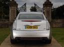Фото авто Cadillac CTS 2 поколение, ракурс: 180 цвет: серебряный