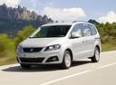 Фото авто SEAT Alhambra 2 поколение, ракурс: 45 цвет: серебряный