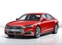 Фото авто Audi A8 D5, ракурс: 45 - рендер цвет: красный