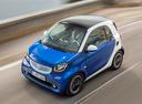 Фото авто Smart Fortwo 3 поколение, ракурс: сверху цвет: синий