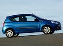Фото авто Chevrolet Aveo T250 [рестайлинг], ракурс: 270 цвет: синий