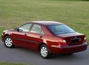 Фото авто Toyota Camry XV30, ракурс: 135 цвет: красный