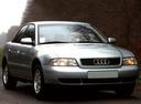Фото авто Audi A4 B5, ракурс: 315 цвет: серебряный