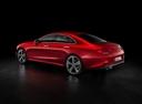 Фото авто Mercedes-Benz CLS-Класс C257, ракурс: 135 цвет: красный