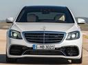 Фото авто Mercedes-Benz S-Класс W222/C217/A217 [рестайлинг],  цвет: белый