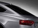 Фото авто Audi A5 8T, ракурс: задние фонари цвет: серебряный