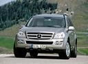 Фото авто Mercedes-Benz GL-Класс X164, ракурс: 45 цвет: серебряный