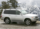 Фото авто Toyota Land Cruiser J100 [2-й рестайлинг], ракурс: 90