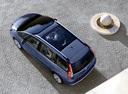Фото авто Citroen C4 Picasso 1 поколение, ракурс: сверху цвет: голубой