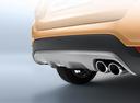 Фото авто Kia Rio 4 поколение, ракурс: задняя часть цвет: оранжевый