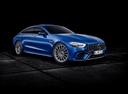 Фото авто Mercedes-Benz AMG GT C190 [рестайлинг], ракурс: 315 цвет: синий