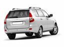 Фото авто ВАЗ (Lada) Priora 1 поколение, ракурс: 180 цвет: серебряный