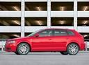 Фото авто Audi A3 8P/8PA [рестайлинг], ракурс: 90 цвет: красный