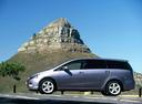 Фото авто Mitsubishi Grandis 1 поколение, ракурс: 90 цвет: фиолетовый