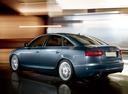 Фото авто Audi A6 4F/C6 [рестайлинг], ракурс: 135 цвет: голубой