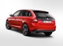 Фото авто Skoda Rapid 3 поколение [рестайлинг], ракурс: 135 - рендер цвет: красный