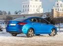 Фото авто Hyundai Solaris 2 поколение, ракурс: 225 цвет: синий