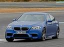 Фото авто BMW M5 F10 [рестайлинг],  цвет: синий