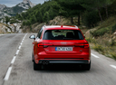 Фото авто Audi A4 B9, ракурс: 180 цвет: красный