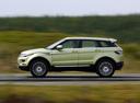 Фото авто Land Rover Range Rover Evoque L538, ракурс: 90 цвет: зеленый