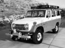 Фото авто Toyota Land Cruiser J40/J50, ракурс: 45