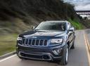 Фото авто Jeep Grand Cherokee WK2 [рестайлинг], ракурс: 45 цвет: синий