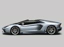 Фото авто Lamborghini Aventador 1 поколение, ракурс: 90 цвет: серый