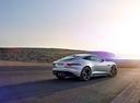 Фото авто Jaguar F-Type 1 поколение [рестайлинг], ракурс: 225 цвет: серебряный