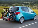Фото авто Opel Meriva 2 поколение, ракурс: 225 цвет: голубой