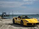 Фото авто Ferrari 488 1 поколение, ракурс: 315 цвет: желтый