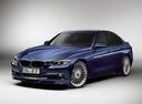 Фото авто Alpina B3 F30/F31, ракурс: 45 цвет: синий