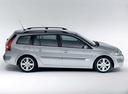 Фото авто Renault Megane 2 поколение, ракурс: 270 цвет: серебряный