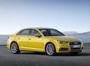 Фото авто Audi A4 B9, ракурс: 315 цвет: золотой