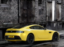 Фото авто Aston Martin Vantage 3 поколение [2-й рестайлинг], ракурс: 225 цвет: желтый