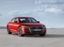 Фото авто Audi A8 D5, ракурс: 315 цвет: красный