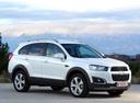 Фото авто Chevrolet Captiva 1 поколение [2-й рестайлинг], ракурс: 315 цвет: белый