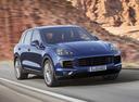 Фото авто Porsche Cayenne 958 [рестайлинг], ракурс: 315 цвет: синий