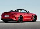 Фото авто BMW Z4 G29, ракурс: 225 цвет: красный
