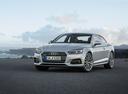 Фото авто Audi A5 2 поколение, ракурс: 45 цвет: серебряный