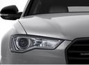 Фото авто Audi A6 4G/C7 [рестайлинг], ракурс: передние фары цвет: серебряный