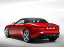 Фото авто Jaguar F-Type 1 поколение, ракурс: 135 цвет: красный
