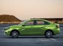 Фото авто ВАЗ (Lada) Vesta 1 поколение, ракурс: 90 цвет: зеленый