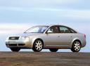 Фото авто Audi A6 4B/C5 [рестайлинг], ракурс: 45 цвет: серебряный