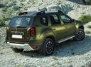 Фото авто Renault Duster 1 поколение [рестайлинг], ракурс: 225 цвет: зеленый