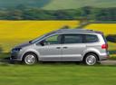 Фото авто Volkswagen Sharan 2 поколение, ракурс: 90