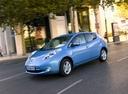 Фото авто Nissan Leaf 1 поколение, ракурс: 45