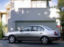 Фото авто Hyundai Elantra XD, ракурс: 90 цвет: серебряный