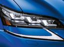 Фото авто Lexus GS 4 поколение [рестайлинг], ракурс: передние фары цвет: синий